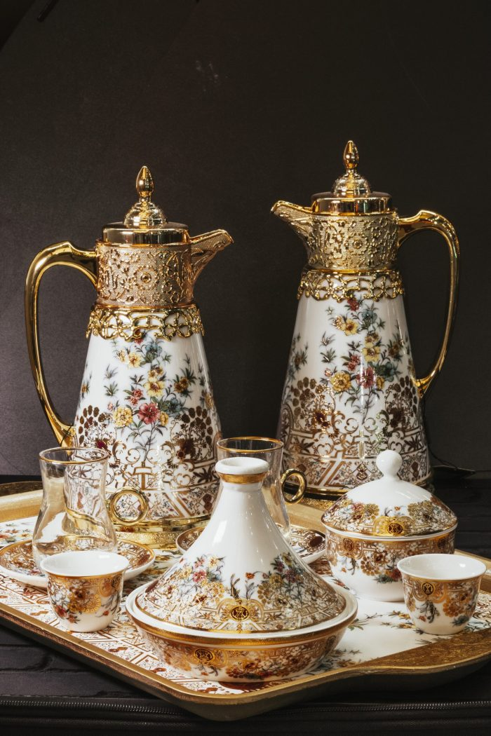 23-Piece Luxurious Coffee Set